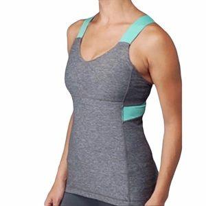 Lululemon Push Your Limits Gray Workout Tank Top